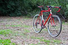 Beautiful Bicycles: Jay's Richard Sachs Cross (John Watson / The Radavist) Tags: red team cross rs cyclocross crossbike madeintheusa atmo richardsachs erichie skinwall