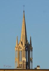 Église de l'Hôpital de la Miséricorde. Église des Cordeliers. Caen (14) (Trix: Pierre qui roule .......) Tags: 14 iglesia normandie janvier église caen campanario 2012 clocher flèche cordeliers miséricorde beasirvent quelestcelieu
