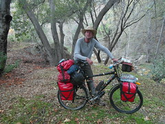 56 countries, I got to camp out with this guy. Amazing (Wojciechh) Tags: ocean road travel bridge camping camp sun house mountain beach home rain bicycle fog swimming fire freedom major us long desert awesome homeless cities sunny grand canyon days trail stealth miles states inspirational cheap touring