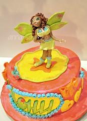 Layla WINX cake (anna savenko (sVeshti4ka)) Tags: color cake girly fairy layla winx