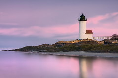 Sunrise at Annisquam Light #10 (genkimonkey) Tags: new england lighthouse sunrise massachusetts ann cape hdr