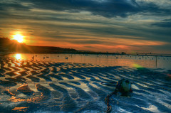 PoR (wong.matt) Tags: sunset beach point nikon rocks cape cod hdr