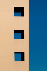 Blue day (Thomas Leth-Olsen) Tags: blue windows architecture shadows minimal abstraction locations contrasty garbejaire blackshadows