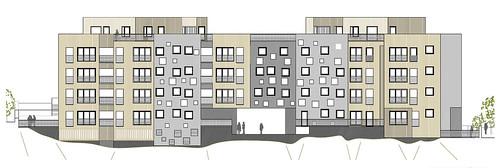 35 viviendas en Begoña Bilbao. 04