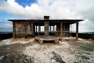 Former Casino's Roof on Bokor Hill