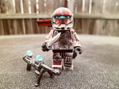 Sev (Grant Me Your Bacon!) Tags: boss starwars lego sev custom clone commando scorch fixer deltasquad