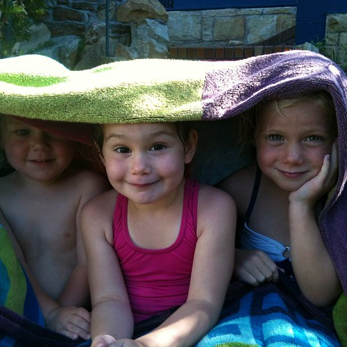 Towel tents!!!