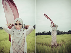 Air (duraath) Tags: portrait female hijab