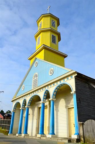 Iglesia San Carlos de Borromeo de Chonchi.