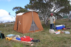 "Tent is up, now for the antennas • <a style=""font-size:0.8em;"" href=""http://www.flickr.com/photos/10945956@N02/6704476173/"" target=""_blank"">View on Flickr</a>"