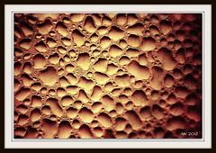 My martian probe (noam koren) Tags: mars texture window water sepia droplets ps frame condensation 2012 nk extrememacro postprocessing
