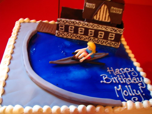 Vancouver Rowing Club cake