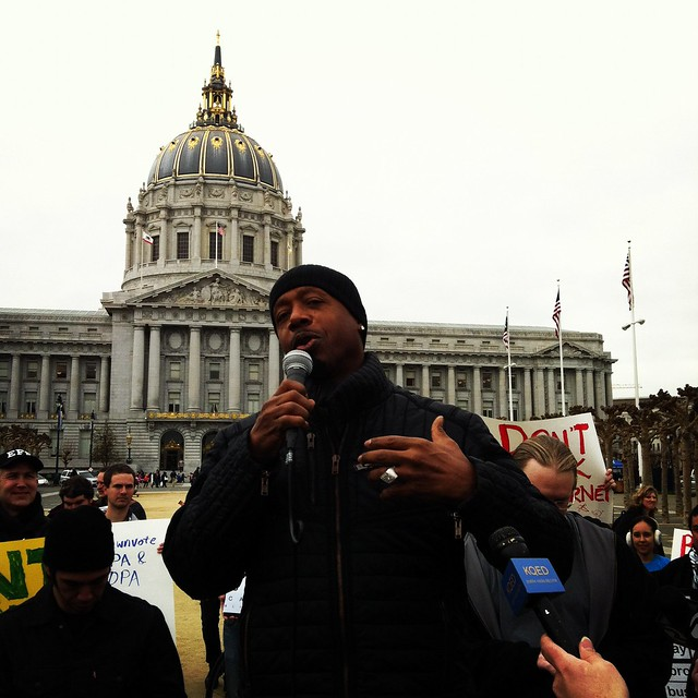 #sopa @MCHAMMER at #stopsopa rally