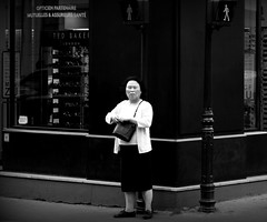 The iron lady (The_Pusher) Tags: street leica bw paris mtro nb m8 march chatelet 2011