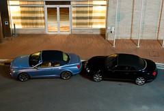 2x Bentley Continental GTC (piolew) Tags: blue black top continental monaco carlo monte marques bentley combo gtc 2011