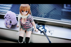 Guitar Girl. (BorderLine1263) Tags: canon doll sigma figure dd  dollfiedream 50mmf14exdghsm   06