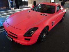 pink slr london cars mercedes supercar amg sportscars supercars streetcars worldcars