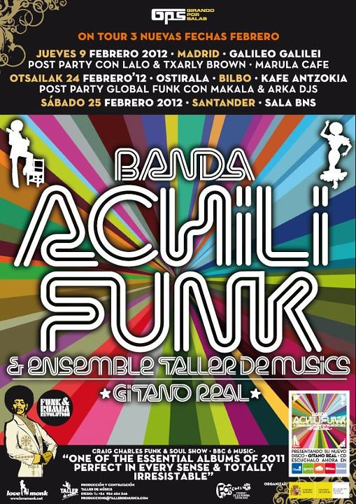 Banda Achilifunk on tour