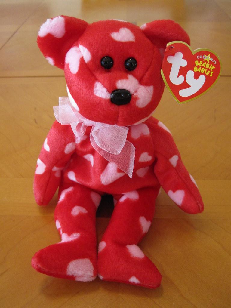 ... Ty Little Kiss the Bear Beanie Baby (jessicagreen0202) Tags bear baby  cute animal discount ... d59915b55c2d