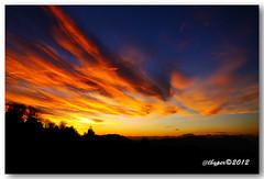 Sunset 22.01.2012