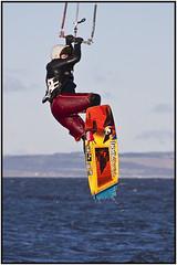 Gullane Kitesurfer (Dougie Williams) Tags: kite surfer kitesurfing gullane kitesurfer