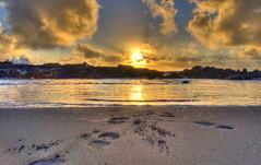 SamoaBreakwaterTurnaround (Dennis Wilcox) Tags: sand footprints my