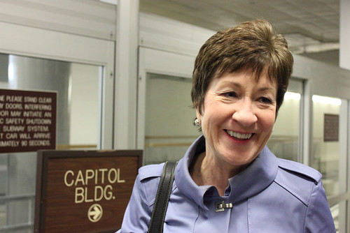 From flickr.com: Sen. Susan Collins, R-Maine {MID-137176}
