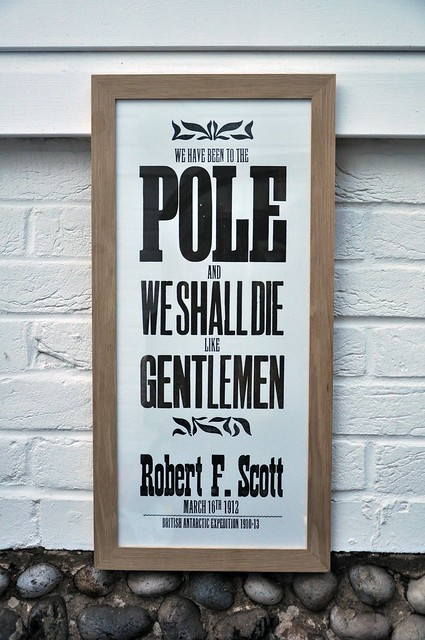 We have been to the Pole...