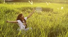 golden sun (rinidisini) Tags: hometown niece jogja sunbathing