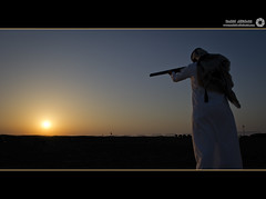 Silhouette (RASHID ALKUBAISI) Tags: sunset sun nikon nikkor d3 doha qatar rashid    d3x alkubaisi d3s  nikond3s mygearandme wwwrashidalkubaisicom