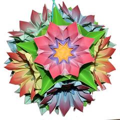 COROLLA 2 (Nusick) Tags: flores flower floral fleur origami flor blume fiore paperfolding papiroflexia dobradura francescoguarnieri