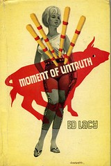 Moment of Untruth (54mge) Tags: book crime novel boardman bloodhound dustjacket dustwrapper