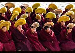 LABRANG (BoazImages) Tags: china asian asia buddhist documentary buddhism tibet monastery amdo labrang tibetan xiahe eastern gansu yellowhat  geluk worldlocations boazimages