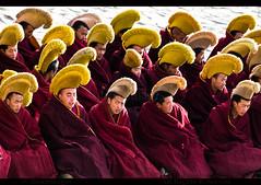 LABRANG (BoazImages) Tags: china asian asia buddhist documentary buddhism tibet monastery amdo labrang tibetan xiahe eastern gansu yellowhat 拉卜楞寺 geluk worldlocations boazimages བླ་བྲང་བཀྲ་ཤིས་འཁྱིལ