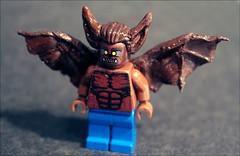 Man- Bat. New Custom Batman fig. (Fianat) Tags: man lego batman manbat