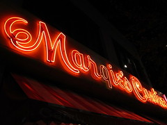 Margie's Candies (stoneofzanzibar) Tags: chicago night neon storefront bucktown margiescandies
