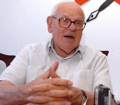 O sociólogo belga François Houtart - Foto Roosewelt Pinheiro/ABr