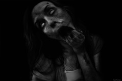 Thoughtless (Noro8) Tags: face photoshop mouth dark fly scary atmosphere creepy brushes cockroach noro8 thoughtess