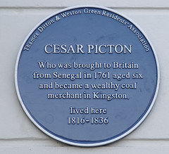 Photo of Cesar Picton blue plaque