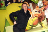 Jason Byrne & Miss Piggy pictured at the Irish Premiere of Disney's 'The Muppets' in the Savoy cinema Dublin. Photo: Anthony Woods