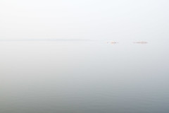 Morning at Gandipet (Bert (A.H.) Roos) Tags: morning india lake nature water meer natuur hyderabad morgen ochtend andhrapradesh