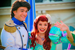 Ariel and Prince Eric (abelle2) Tags: ariel thelittlemermaid littlemermaid mermaid princess disneyprincess princessariel princeeric prince eric disneyprince parade disneyparade celebrateadreamcometrue celebrateadreamcometrueparade disney disneyworld wdw waltdisneyworld magickingdom