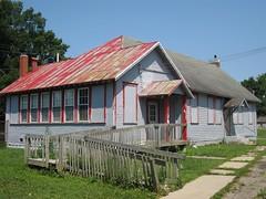 080110 Washington High School--Utica, Ohio (14) (oldohioschools) Tags: county school ohio abandoned washington high closed licking utica