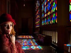 Visita turística a un internado. (satance) Tags: estudio modelo sombrero satance