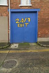 (Yermaaaaaaaaaaaaaaaaaaaaaaaaaaaaaaaaaaaaaaaaaaaaaa) Tags: door ireland urban window sign wall belfast northernireland exit doubleyellow 247 yermaaaaa