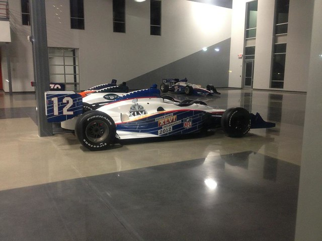 Some of the Indy Cars
