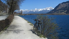 Tauernradweg - Saalachast (twinni) Tags: salzburg bike bayern austria felt biketour pinzgau qx100 saalach tauernradweg trekkingrad mw1504 29032014 trekkingradl