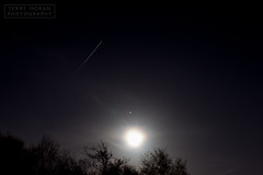 International Space Station with The Moon & Mars (Terry Moran Photography) Tags: sky mars moon station night stars long exposure space nasa international planets the
