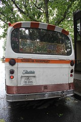 "1966 Flxible 411-GD-C2 ex SCRTD #4020 ""Rage Bus"" (busdude) Tags: bus ex project rage 1966 flxible 4020 scrtd ragebus 411gdc2"