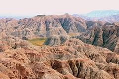 Geological Formations - Badlands National Park, Western South Dakota (danjdavis) Tags: southdakota nationalpark badlands badlandsnationalpark rockformations geologicalformatkions